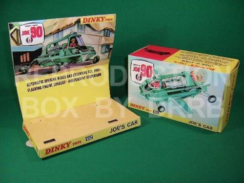 Dinky #102 Joe's Car - Reproduction Box